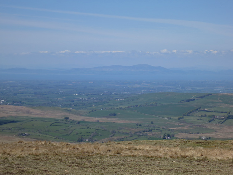 Criffel in south west Scotland, across the Solway Firth