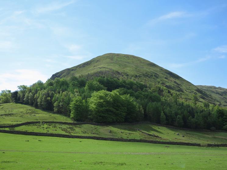 Steel Fell's north ridge