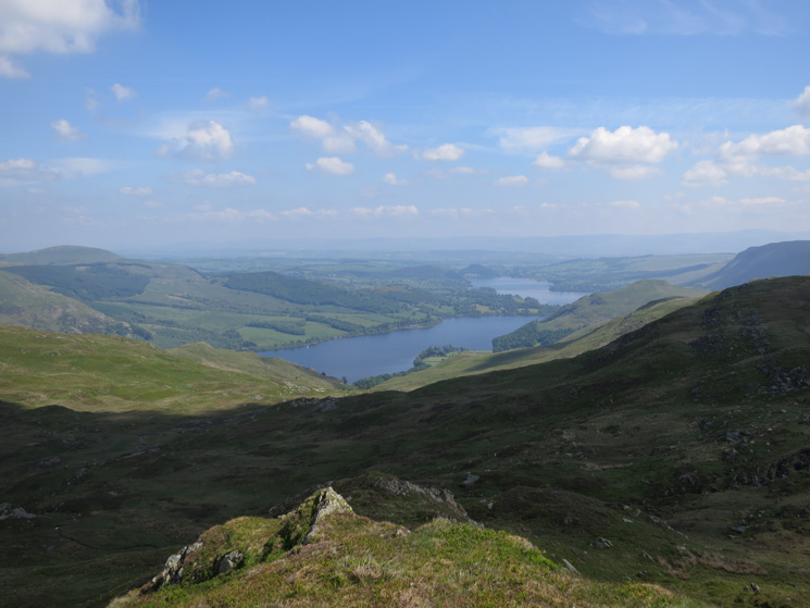 Looking north down Ullswater from The Knight