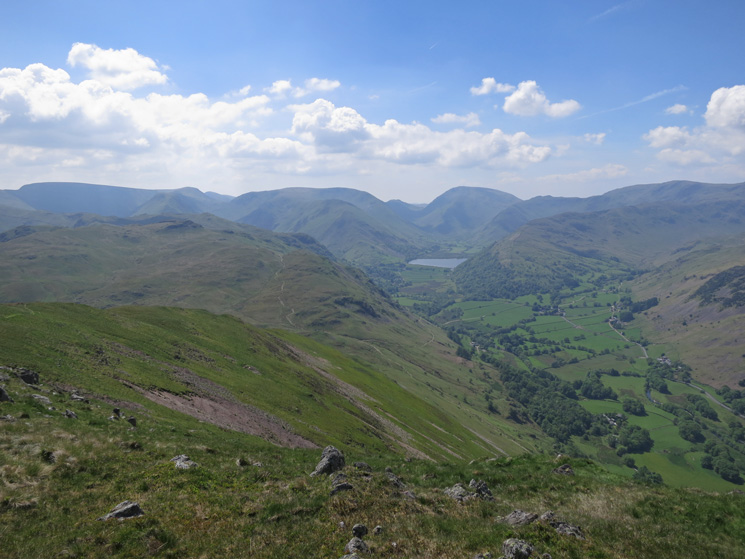South to Brothers Water and Red Screes