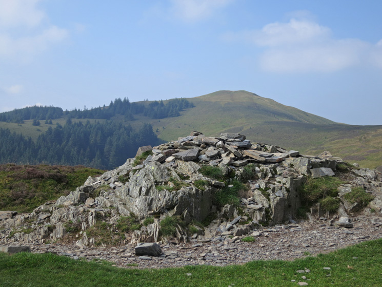Lord's Seat from Barf's summit