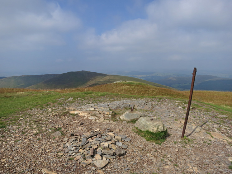 Looking across to Broom Fell from Lord's Seat summit