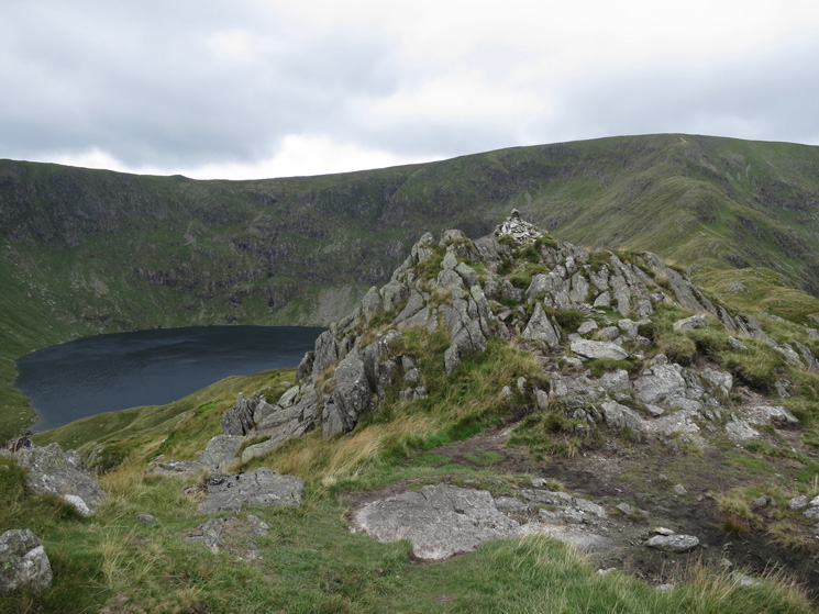 Rough Crag summit cairn