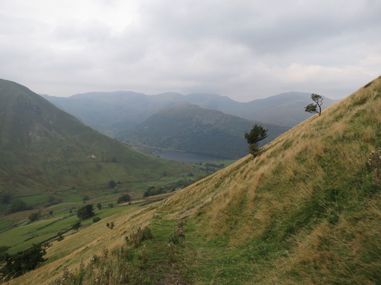 Brothers Water and Hartsop Above How from the path up Brock Crags