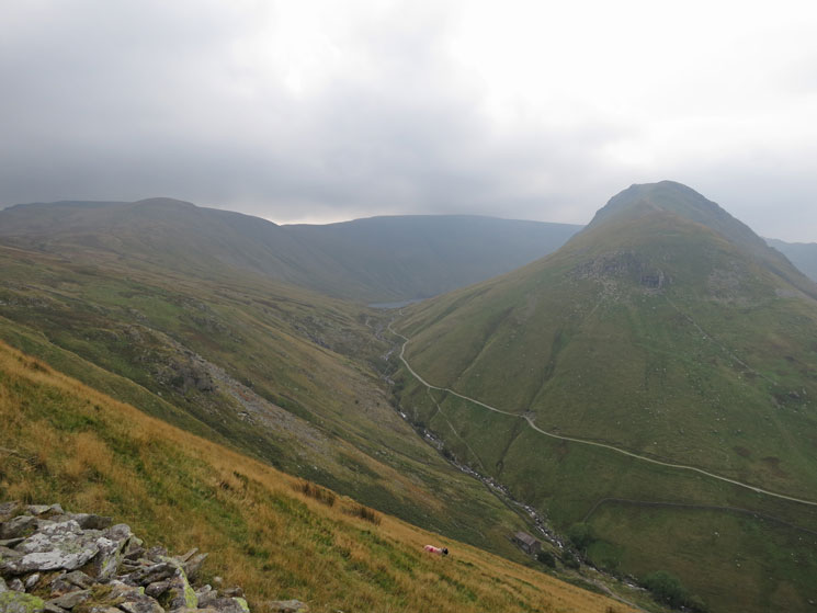 Gray Crag and a glimpse of Hayeswater
