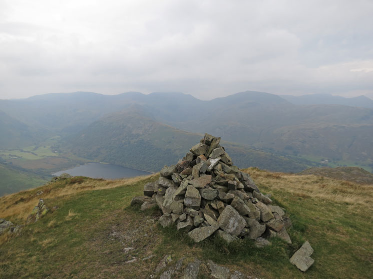 East from Brock Crags summit