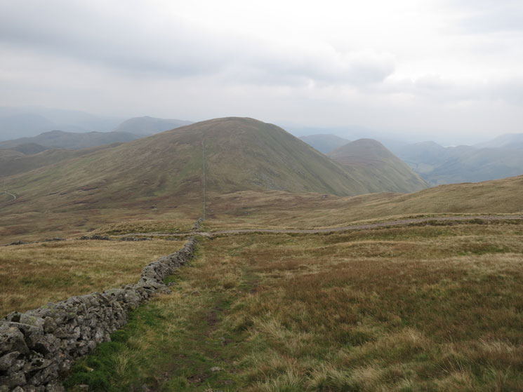 Rest Dodd and The Nab from the climb up The Knott