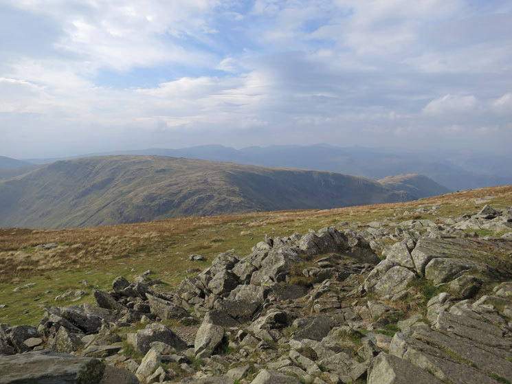 Stony Cove Pike/Caudale Moor and Hartsop Dodd, two fells too far today