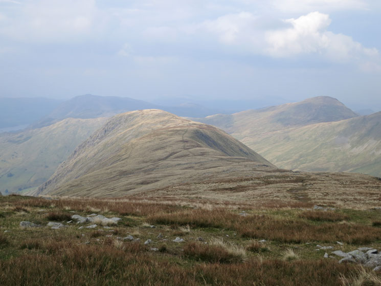 Gray Crag, our last fell of the day