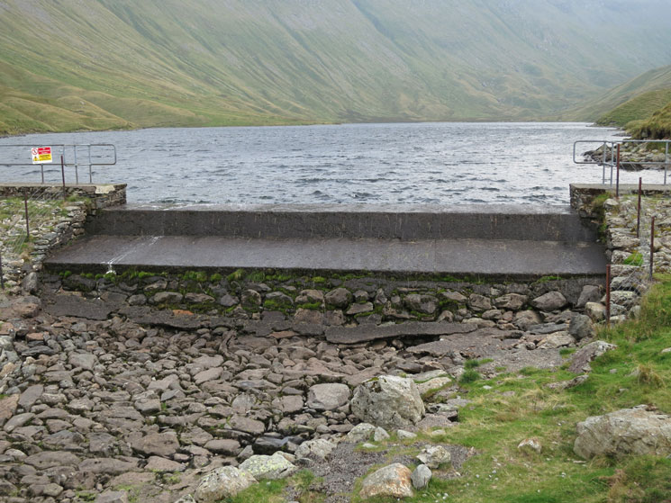 Hayeswater Dam built in 1908
