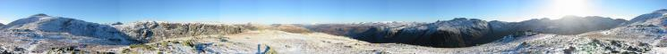 360 Panorama from Base Brown's summit